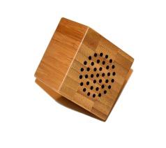 Houten Speaker Bamboo Cube