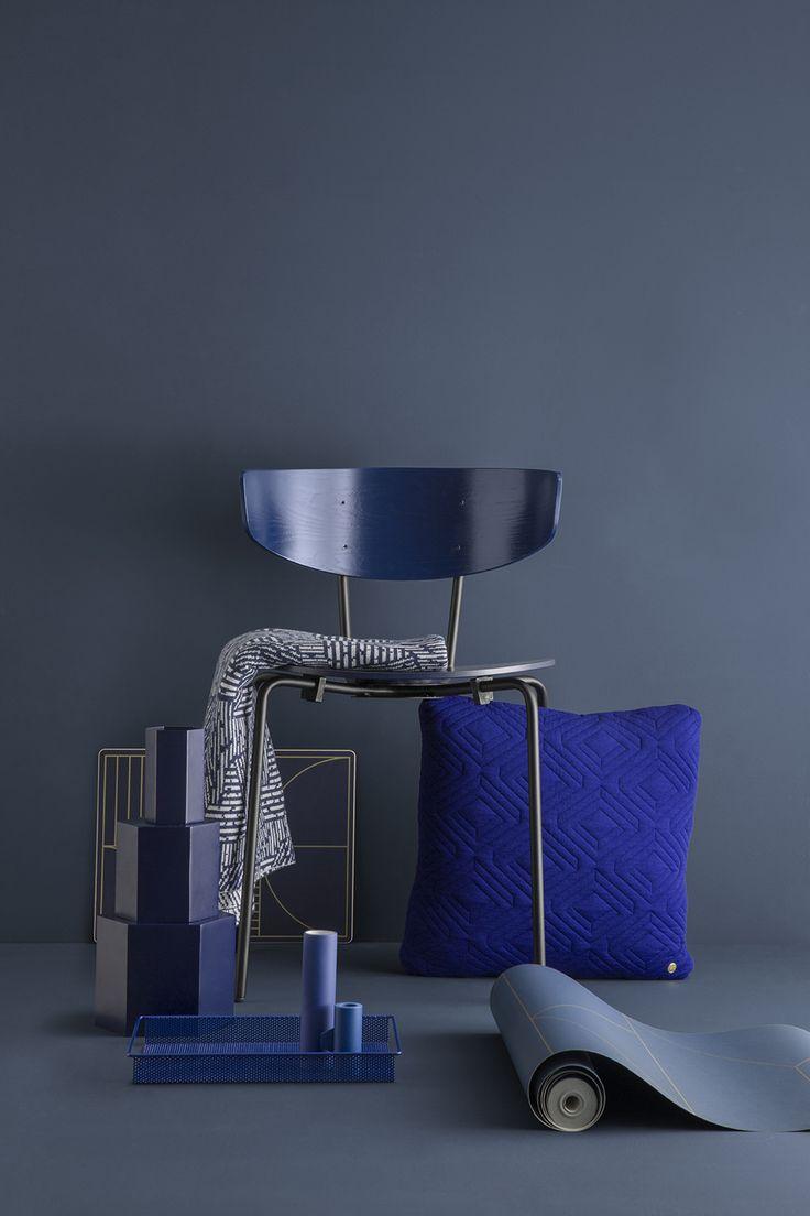 herman chair blue